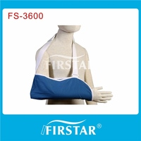 highgrade colored cotton arm sling support meet DIN13164