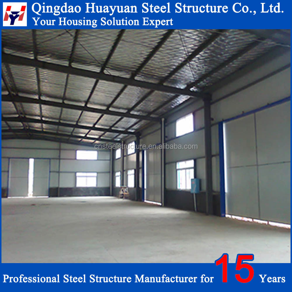 Prefabricated Structural Steel Prefab Metal Construction Building