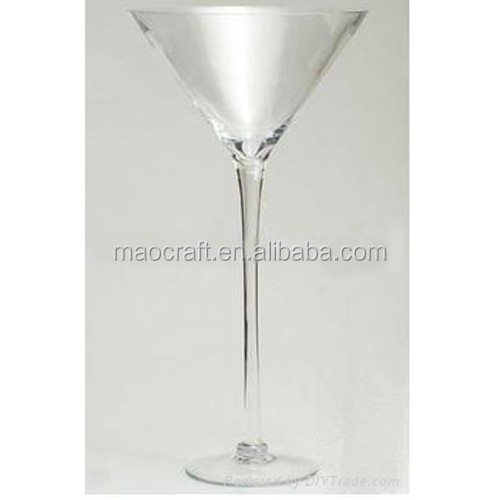 Tall martini glass centerpiece buy clear
