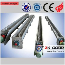 Energy-saving Stainless Steel Screw Conveyor for coal lump conveyor system