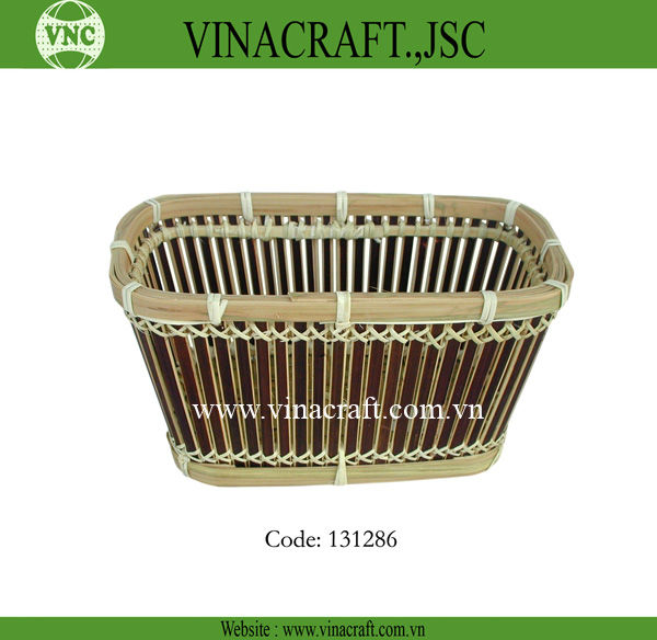 Bamboo Fruit Basket For Promotion