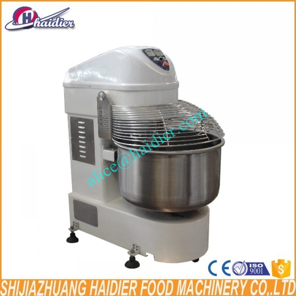 220V electric automatic Heavy duty commercial 160kg spiral dough mixer