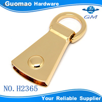 Light gold bag handle zinc alloy Guangzhou luggage accessories