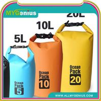 Outdoor pvc fashion waterproof dry bag ,H0Tvc waterproof pouch bag