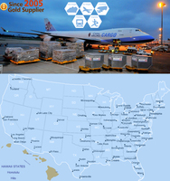 Air Freight Cargo Consolidation Shipping to Georgia, US