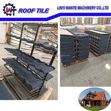 Colorful stone coated roofing sheet metal roof