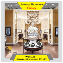 2017 Top rated customized furniture jewelry store jewellery shop design interior design