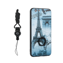 New Popular Girl Style 3D Pictures Pattern PC Back Mobile Phone Case for OPPO A57 A59