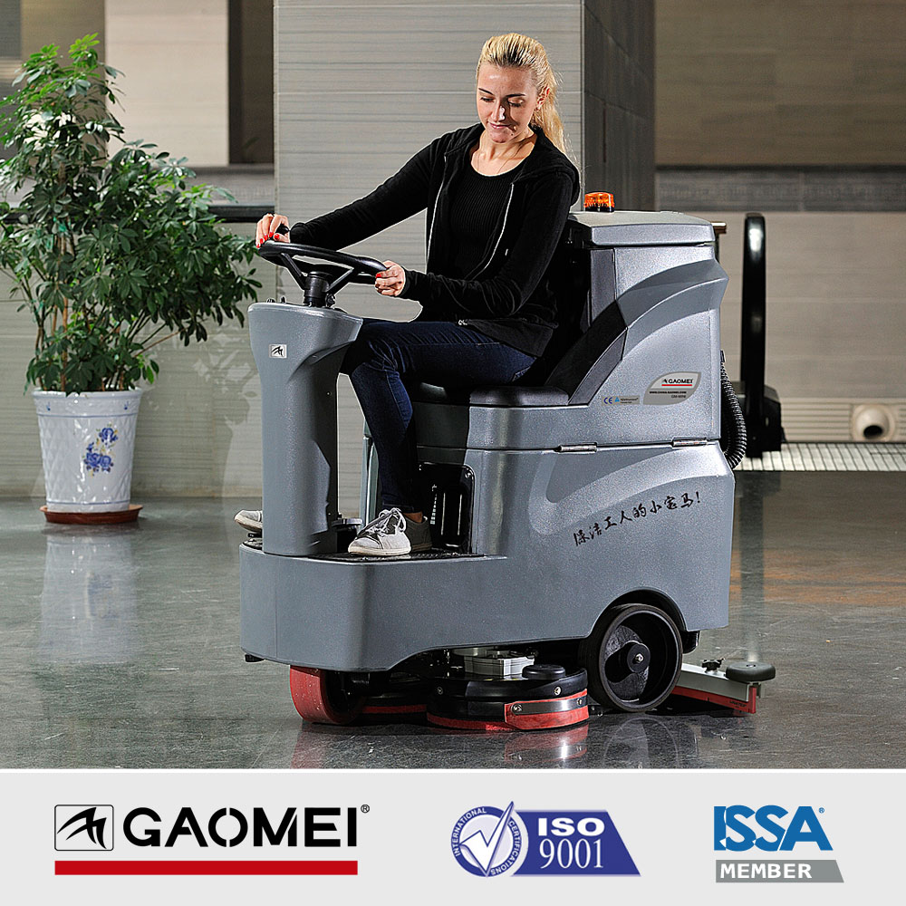 R-QQ Auto Floor cleaning machine with U-Shape Squeegee
