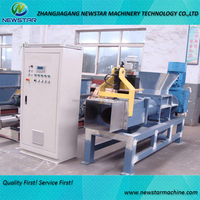 Waste film dewatering machine plastic squeezer for PE PP recycle washing line