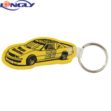 Race Car Soft Key Tag
