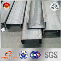 C Shaped Channel Is Perforated or Not Steel C Purlin Profile Mild Steel C Lipped Channel