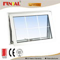 Hot sale Europe style power coated aluminum frame low-e glass aluminum awning window