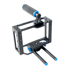 Camera Video Cage Rig Universal Mounting Aluminum Alloy Filmmaker Making Kit for ANY DSLR Canon Nikon Panasonic A7/9