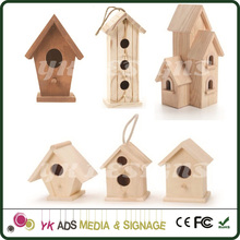 sample custom made wood bird housefor home store street