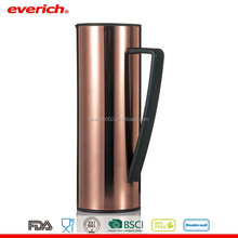 New Design 1L Wholesale Drinkware Stainless Steel Coffee Pot With Glass Liner