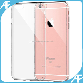 Shockproof TPU Clear Thin Case Cover for iphone 6 / 6s / 6plus / 6s plus
