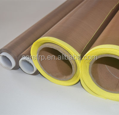 Fireproof fabric coated PTFE adhesive tape