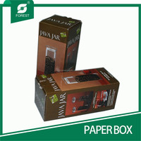 COLOR PAPER BOX FOR SHIPPING COFFEE BEAN BIN