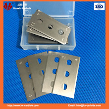 double edge 3 holes industrial tungsten carbide knife