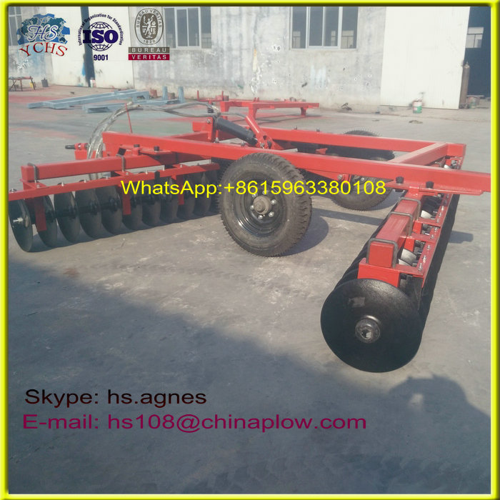 Farm implements tractor hydraulic disc harrow with best bottom price