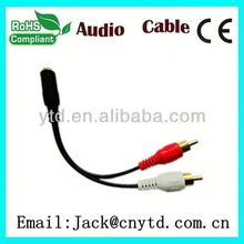 Hot Saling hd15 vga to rca male cable Super speed