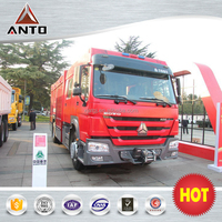 HOWO 4x2 Fire Trucks For Sale