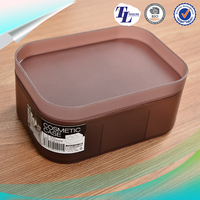 Factory Direct Promotional korean cosmetics storage box for makeup