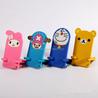 Creative cute lovely candy soft flexible cell phone holder