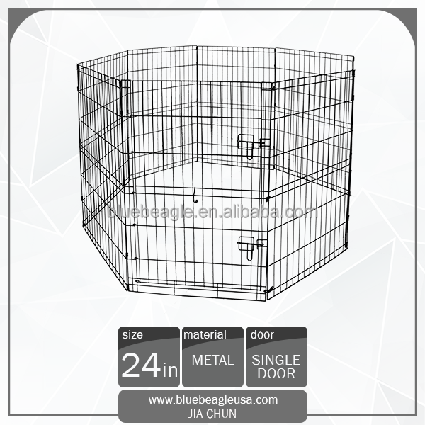 "24"" Durable Portable 8 Panels Pet Playpen"