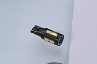 T10 10SMD 5730 5W LED Auto Lights Wedge Light for car bulbs