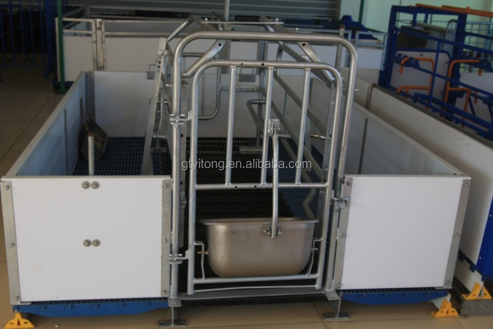 Hot-dip Galvanized Farrowing Crate for pigs