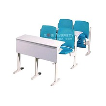 Cheap school furniture plastic tables and chairs used folding school chair desk wholesale