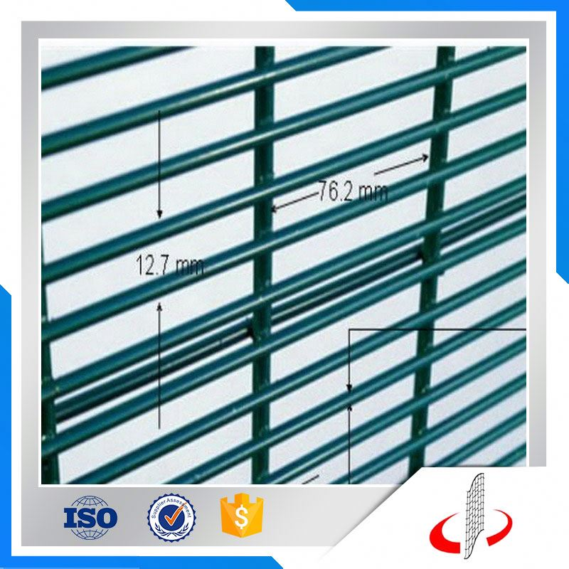 Anti Cut Galvanized 358 Security Fence For Prison