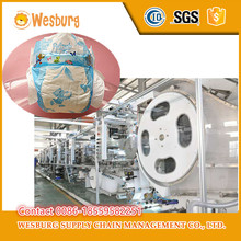High Speed Used small baby diaper machine