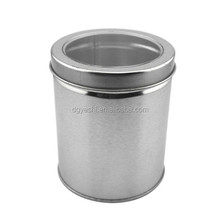 New Design Big Round Gift Metal Tin Box/Cookies Tin Box