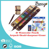 OEM Hot sell Corot 48 Colors Artist Professional Non-toxic Drawing Water Color Soluble Pencil For Skech Painting for aritist
