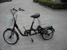 light weight electric tricycle with green battery for adults