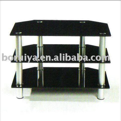 tempered glass lcd tv stand furniture liquidation
