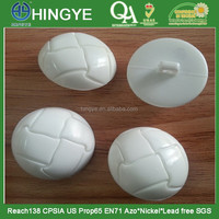 48L football Shape Plastic Shank Button