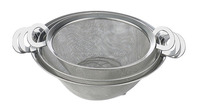 stainless steel storage colander kitchen basket