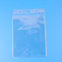 wholesale clear plastic credit card sleeve