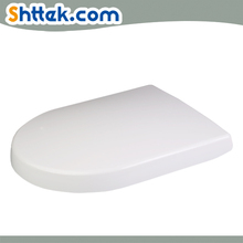D shape Slow soft Close bathroom urea Toilet Seats cover UF duroplast with quick release hinge