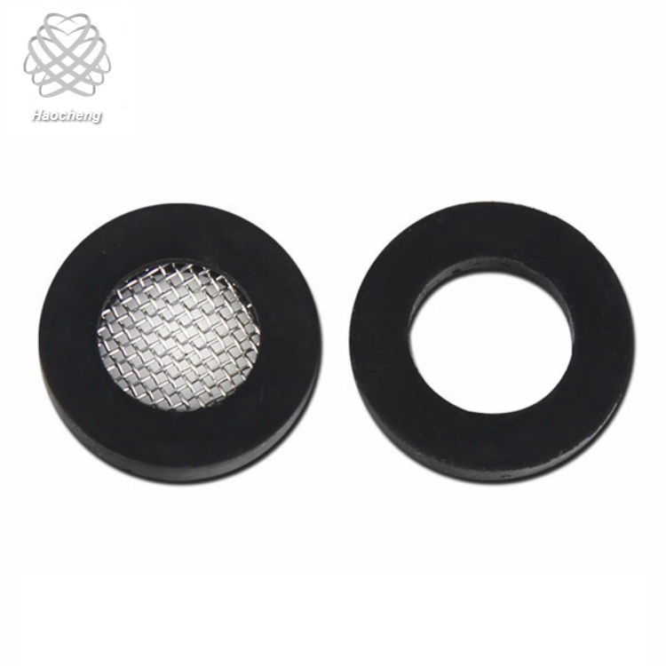 Reusable 1.25 Inch Washing Machine Intake Filtration Hose Coupling Filter Gauze Washer