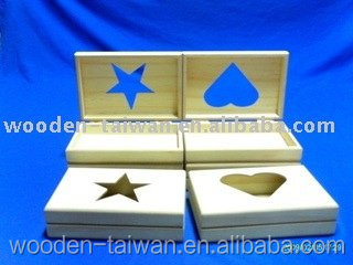 Customized gift wooden box case