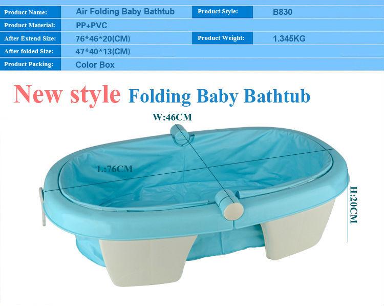 freestanding collapsible baby bathtub wholesale foldable kids plastic bath tu. Black Bedroom Furniture Sets. Home Design Ideas