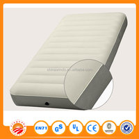 Comfortable air bed for children and adult inflatable round mattress