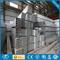 factory price black square steel tube hollow section rectangular steel tube material grade a