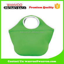 2016 hot sale green color nylon woven storage basket