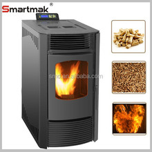 Cheap modern biomass pellet Stove with CE and EN14785